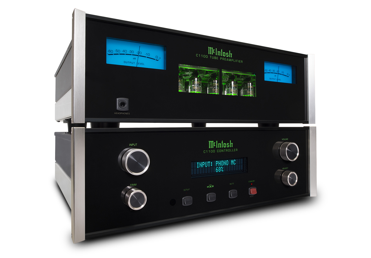 Mcintosh C1100 Reference Two Box Pre Amp The Listening