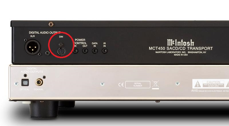 McIntosh MCT-450 CD Transport