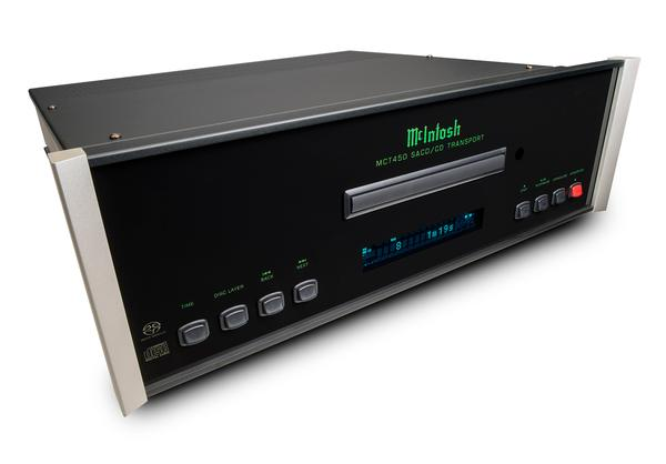 McIntosh MCT450 CD Transport Left_Angle