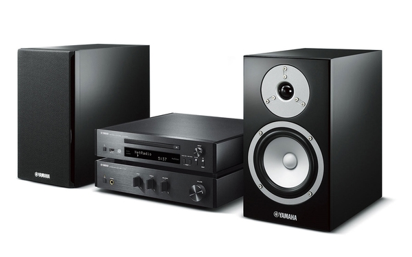 Yamaha mcr n670 musiccast system a 670 amplifier cd nt670 cd player ns bp301 speakers the for Yamaha mcr n670