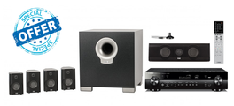 Yamaha RX-S602 and Cinema 10 is a 5.1 speaker package