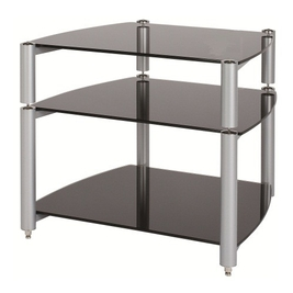 Alphason ST560 3-Shelf Rack (Silver)