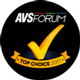 AVS Forum Top Choice 2017