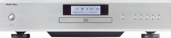 Rotel CD14 CD Player Silver Front