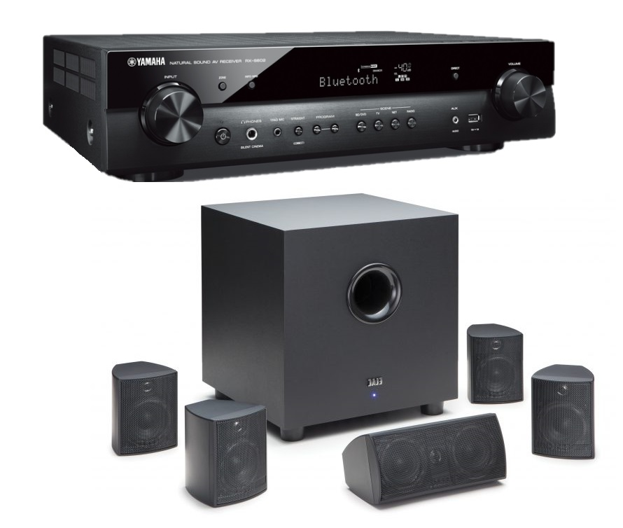 Yamaha & ELAC Home Theatre Package