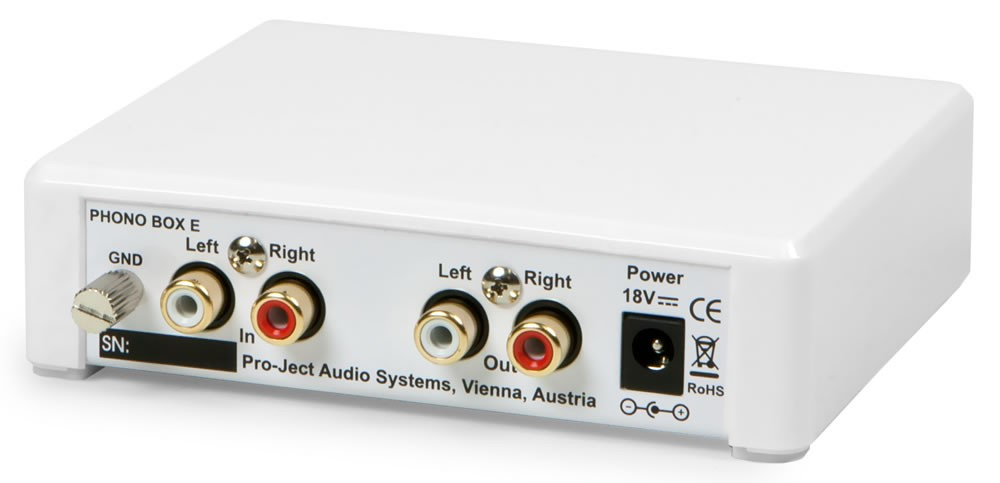 Phono Box E Rear