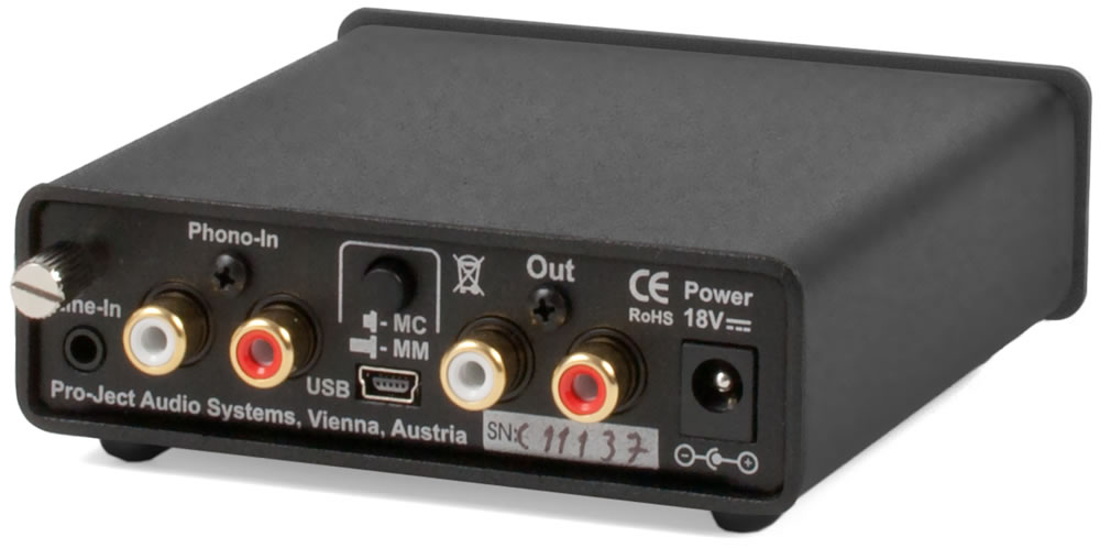 Pro-Ject Phono Box USB V Preamplifier