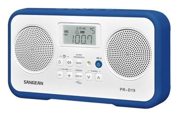 Sangean PR-D19 Portable Clock Radio