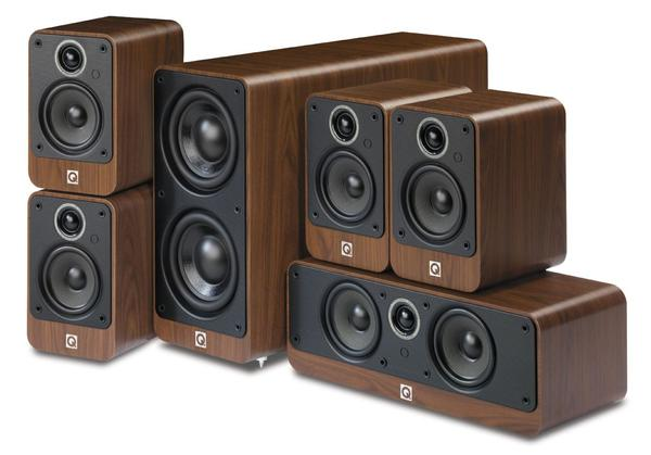 Q Acoustics Q2000 5.1 Cinema Package Walnut
