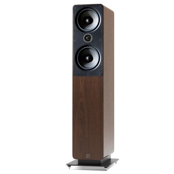 Q Acoustics 2050i Floorstanding Speakers Walnut