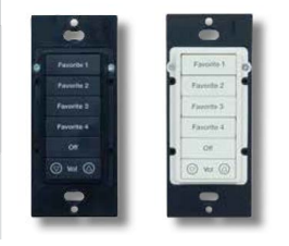 gKP7 keypads - without wall plates.